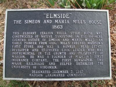 """Elmside"" Marker image. Click for full size."