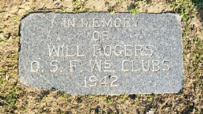 O.S.F. Women's Clubs Rogers Memorial Marker image. Click for full size.