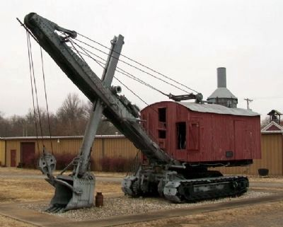 Wilkinson Coal Company Steam Shovel image. Click for full size.