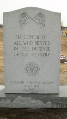 American Legion Post 431 Veterans Memorial image. Click for full size.