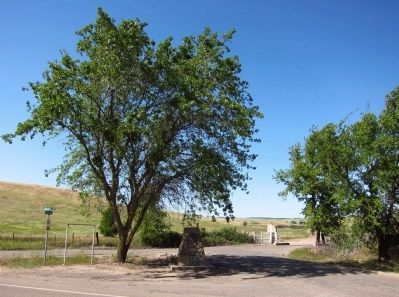 Rancheria del Rio Estanislao Marker - wide view image. Click for full size.