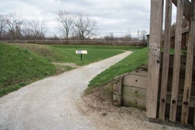 Fort Meigs / Construction Marker image. Click for full size.