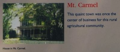 McCormick County Marker -<br>Mt. Carmel image. Click for full size.