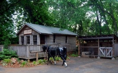 McGee Harness Shop and Blacksmith Shed image. Click for full size.