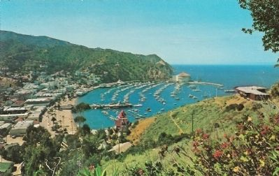 View of Avalon and the Harbor - Santa Catalina Island image. Click for full size.