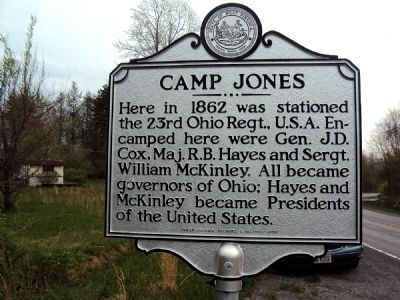 Camp Jones Marker image. Click for full size.