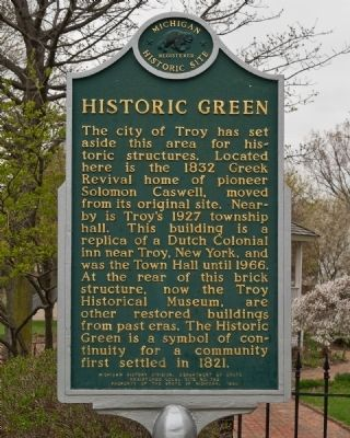 Historic Green Marker image. Click for full size.