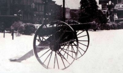 """Old Reformer"" Cannon, ca 1920 image. Click for full size."