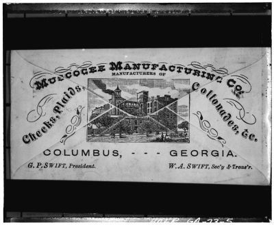Muscogee Manufacturing Company image. Click for full size.