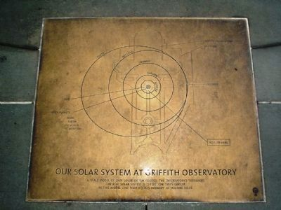 Our solar system at Griffith Observatory image. Click for full size.