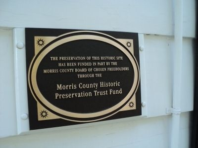 Second Plaque on the Condict House image. Click for full size.