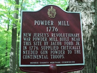 Powder Mill Marker image. Click for full size.