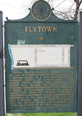 Flytown Marker, Side One image. Click for full size.