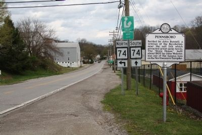 Pennsboro Marker image. Click for full size.