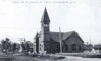 Methodist Episcopal Church, Orr Mills image. Click for full size.