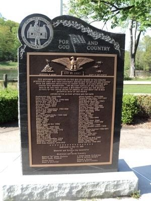Morristown Military Memorial image. Click for full size.