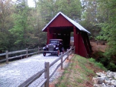 Campbell�s Covered Bridge Photo, Click for full size