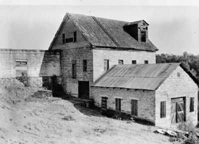 Tulloch's Mill - view from northwest image. Click for full size.