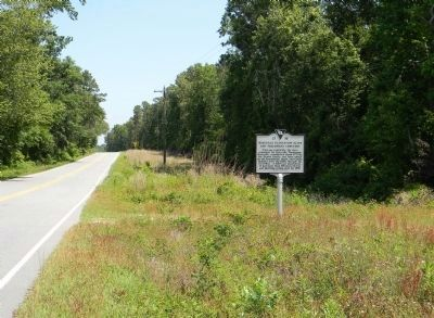 Wide view of the Roseville Plantation Slave And Freedman's Cemetery / Clarke Cemetery Marker image. Click for full size.