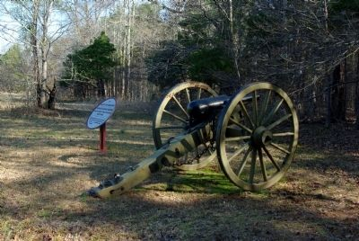 Ketchum's Alabama Battery Marker image. Click for full size.