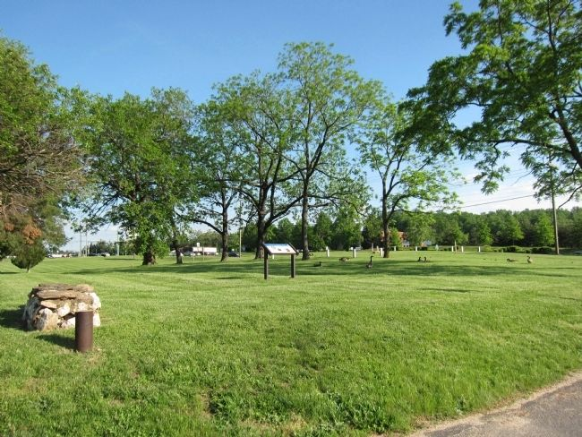 Site of Ankers' Homestead and Cemetery image. Click for full size.