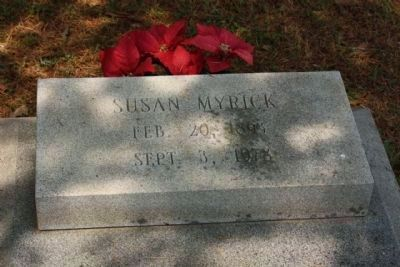 Memory Hill Cemetery, Susan Myrick image. Click for full size.