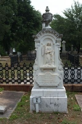 Memory Hill Cemetery, Mary V. Little Adams image. Click for full size.