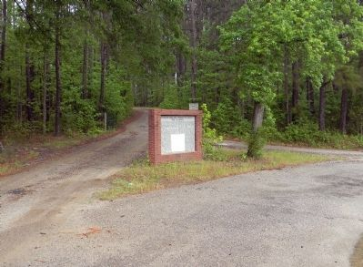 Wide view of the Brown Creek Soil Conservation District Marker image. Click for full size.