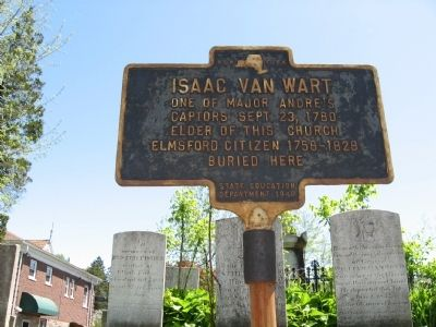 Isaac Van Wart Marker image. Click for full size.