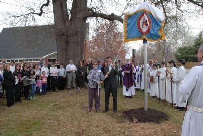 Saint Mark's Episcopal Church Historical Marker Dedication Photo, Click for full size