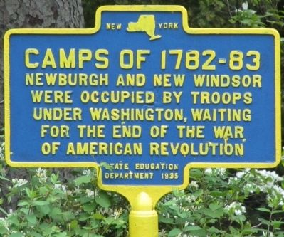 Camps of 1782-83 Marker image. Click for full size.