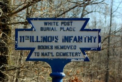 11th illinois infantry marker