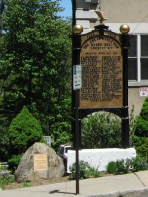 Ardsley World War I Honor Roll image, Click for more information