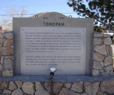 Tonopah Marker image. Click for full size.