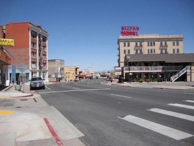 Looking North Up U.S. 95 (Erie Street) in Central Tonopah image. Click for full size.
