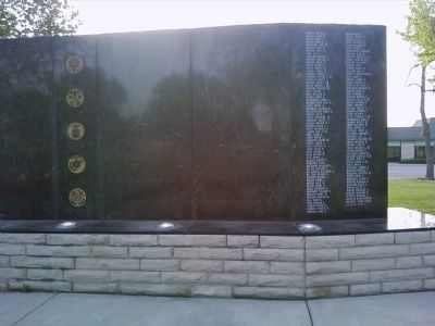 State of Kansas Vietnam Veterans Memorial Marker image. Click for full size.