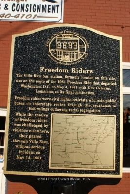 Freedom Riders Marker image. Click for full size.