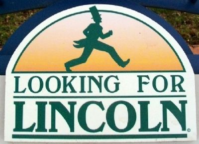 Looking For Lincoln Story Trail Logo image. Click for full size.