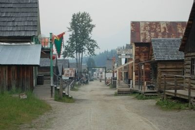 Barkerville Chinatown image. Click for full size.