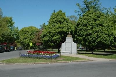 The Battle of Henry Johnson Marker beside Henry Johnson Blvd Photo, Click for full size