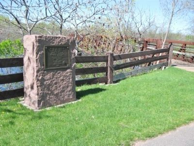 Big Bull Falls Marker image. Click for full size.
