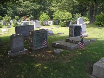 Fremont Family Plot in Rockland Cemetery image. Click for full size.