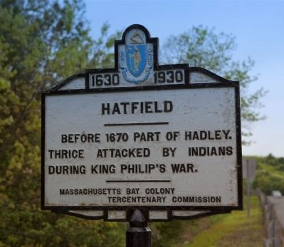 Hatfield(Northampton Town Line) Marker image. Click for full size.