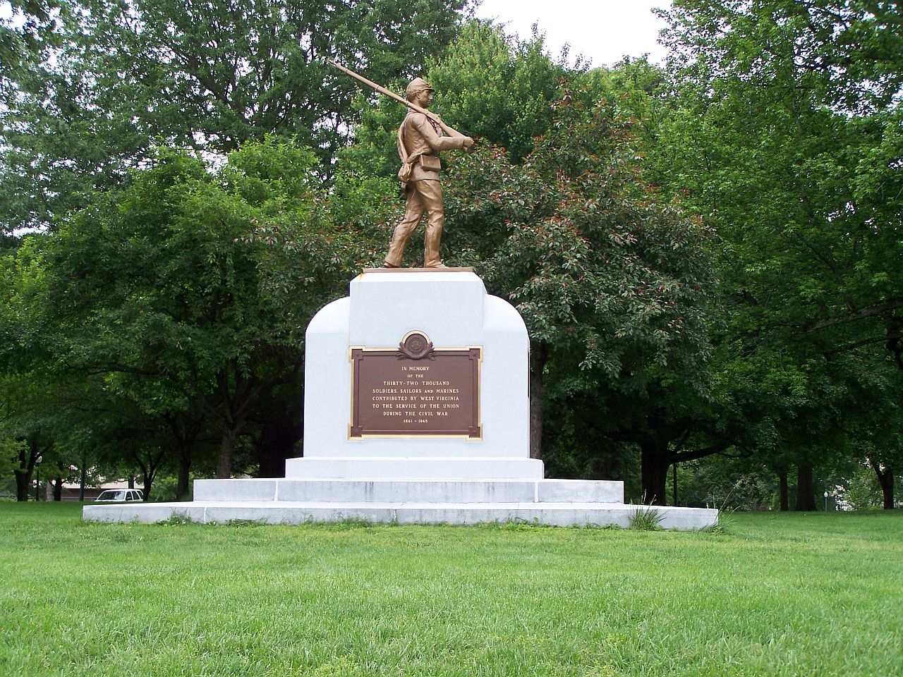 Union Civil War Monument ,south lawn, State Capitol