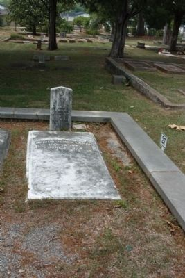 Memory Hill Cemetery , Lucius James Lamar (Cadet, Co. B, GA. Military Institute) image. Click for full size.
