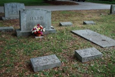Rev. Horace Rabb Family Plot<br>Due West A.R.P. Church Cemetery Photo, Click for full size