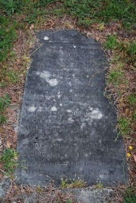 Thomas Chalmers Turner Tombstone<br>Due West A.R.P. Church Cemetery Photo, Click for full size