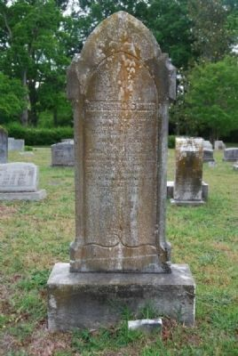 Prof. Frederick Schmidt Tombstone<br>Due West A.R.P. Church Cemetery Photo, Click for full size