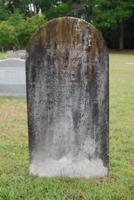 Mary A. Pressly Tombstone<br>Due West A.R.P. Church Cemetery Photo, Click for full size