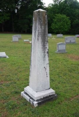 Lizzie J. Boyd Tombstone<br>Due West A.R.P. Church Cemetery Photo, Click for full size